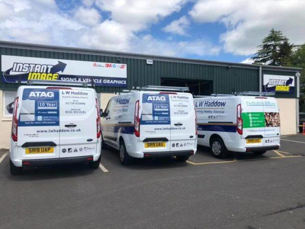New LW Haddow vans