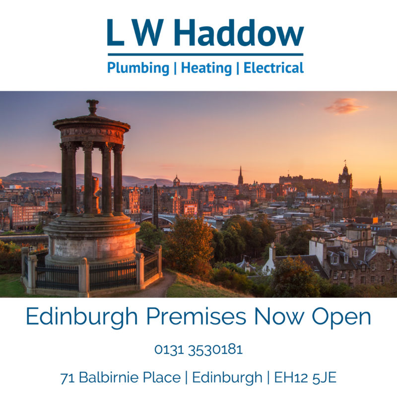 LW Haddow Edinburgh expansion